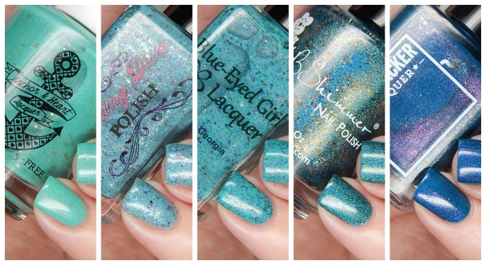 The Color Box Teal All the Things Polish Reveal