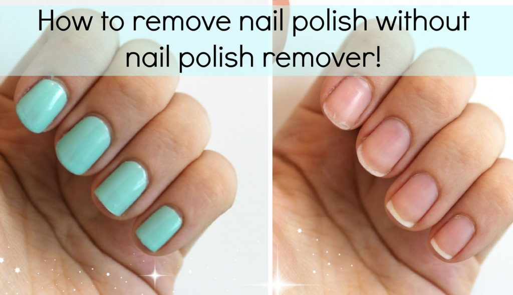nail polish remove